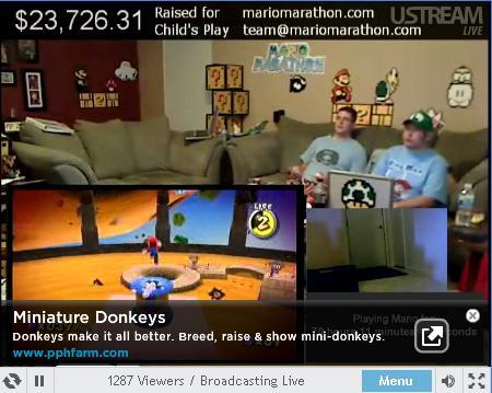 Mario Marathon wtf Gaming