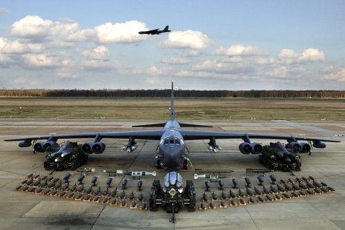 800px B 52H static display arms 06 500x333 B 52 Stratofortress Weapons Military