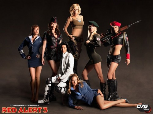 red 1 500x375 Ladies of Red Alert 3 Sexy Red Alert Gaming