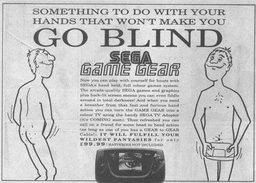 segaviz1 SEGA 90s Ads Gaming