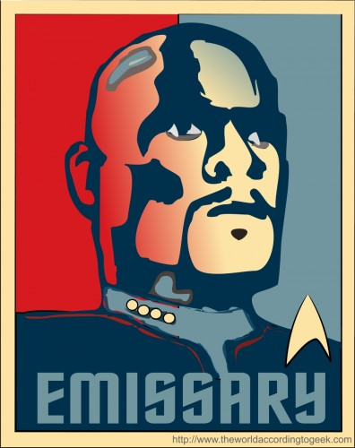 emissarylarge 396x500 Emissary star trek Politics Humor