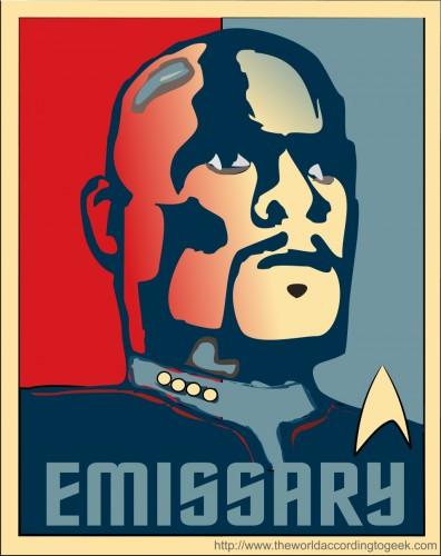 emissarylarge 396x500 Emissary star trek Politics Humor