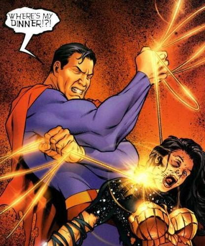 antisupermansuper 416x500 Supermans wants his dinner Sexist Dark Humor Comic Books