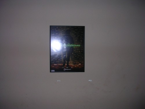 Updated Modern warfare 2 poster (framed)