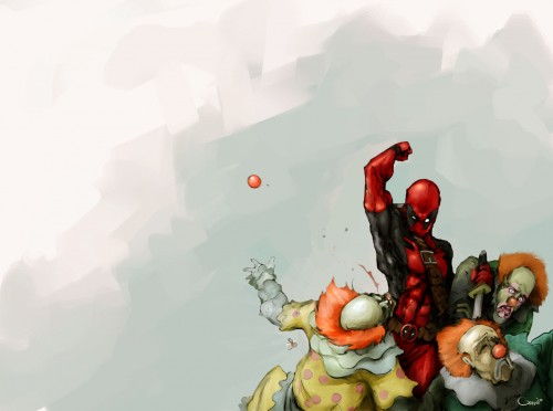 1250601225071 500x372 Deadpool   Wallpaper edition Wallpaper Humor Comic Books
