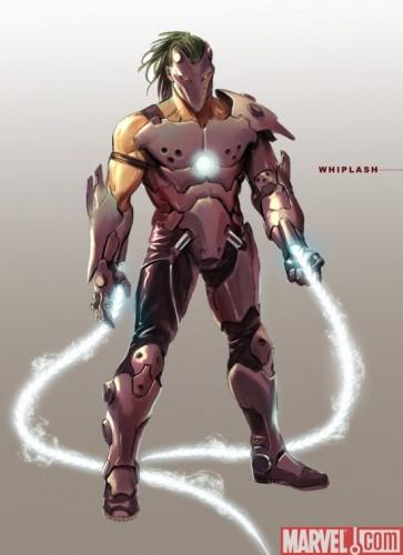 whiplash 363x500 Iron Man 2   Whiplash  Movies Comic Books
