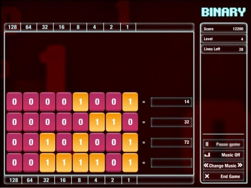 Binary game from Cisco 499x374 Binary Game from Cisco Gaming