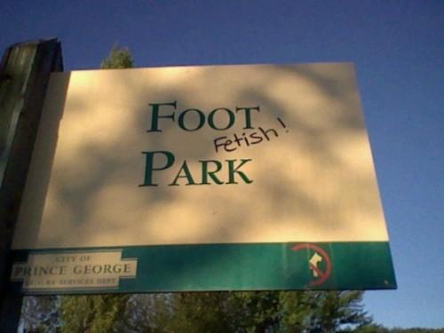 footpark 500x375 Foot Park Humor