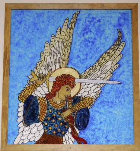 DSC 6552a 464x500 Suicide Saint Michael Religion Art