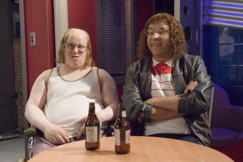 Little Britain on Neighbours 2 500x334 BRITAIN BRITAIN BRITAIN! Television