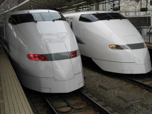 JR 300 500x375 Shinkansen Bullet Trains Technology Awesome Things