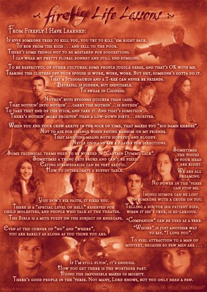 ffll poster lrg.thumbnail Firefly: Lessons Learned Television Humor Fantasy   Science Fiction