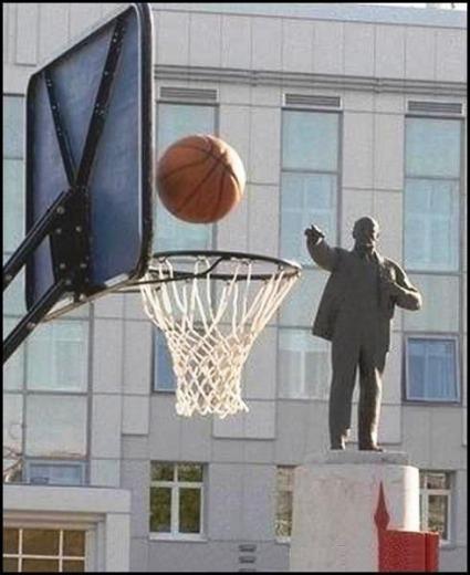 Lenin got skills...