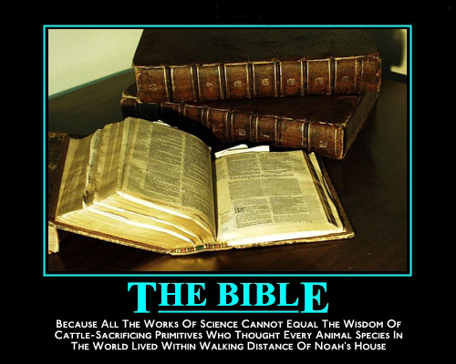 biblenoah The Bible Motivation Poster Religion Military Humor