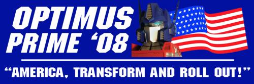 Optimus Prime in '08