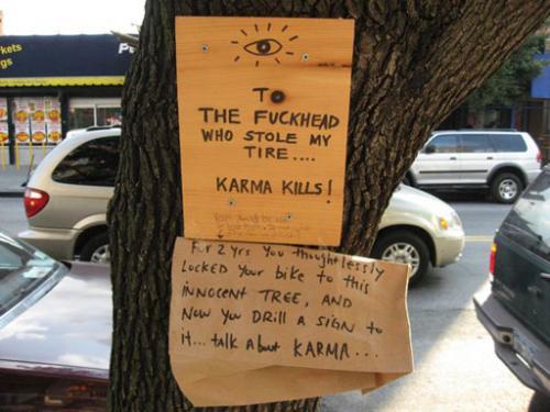 Karma Kills
