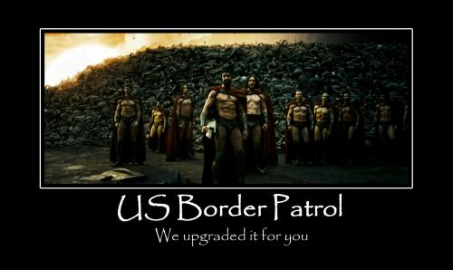 upgrades.thumbnail US Border Patrol Movies Motivational Posters Dark Humor