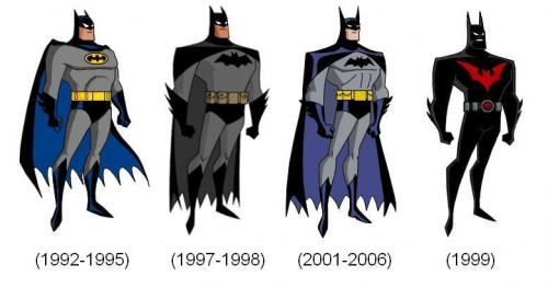 batman animated history.thumbnail History Of the Animated Batman Television Comic Books