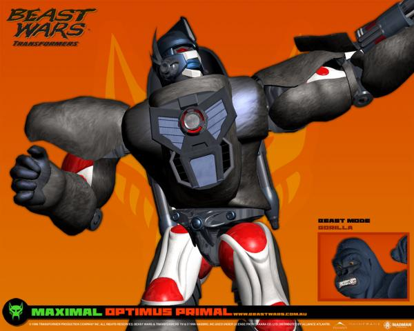 optimus primal wallpaper.thumbnail Transformers   Optimus Primal Wallpaper Television Fantasy   Science Fiction