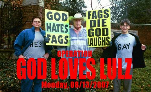 God Hates Fags wtf Religion Dark Humor