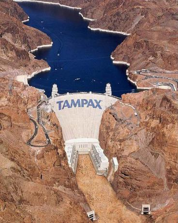 I sure hope the dam doesn't break
