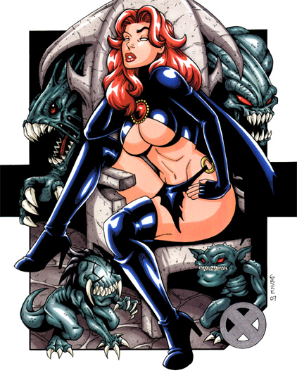 uxbabes 14   goblin queen by gb2k Ultimate X Babe Sexy Comic Books