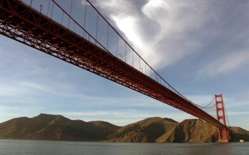 bridge wallpaper.thumbnail Golden Gate Bridge Aerial