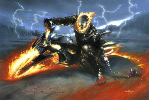 ghost rider wallpaper.thumbnail Ghost Rider Wallpaper Wallpaper Comic Books