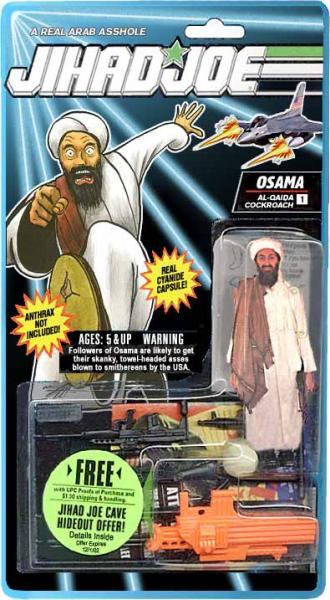 jihadi joe.thumbnail Jihad Joe Toys Religion Dark Humor