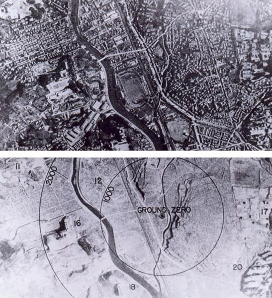 Nagasaki Before and After 1945
