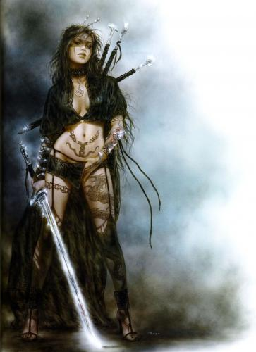 sexy1.thumbnail NSFW   A Girl And Her Sword Sexy Fantasy   Science Fiction