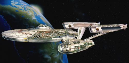 enterprise cut away.thumbnail enterprise cutaway Wallpaper Fantasy   Science Fiction