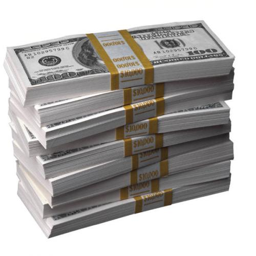 Stacks Of Hundred Dollar Bills | MyConfinedSpace