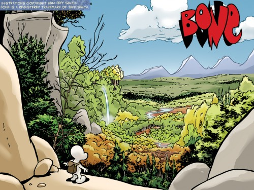 bone valley 500x375 Bone   valley wallpaper Comic Books