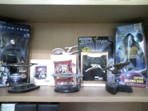 star trek figs 500x375 MCS Collection   Star Trek MCS Collections