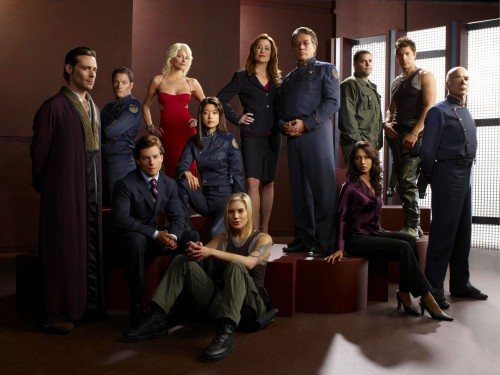 battlestar galactica cast 500x375 Battlestar Galactica Cast Wallpaper Television Fantasy   Science Fiction