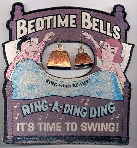 bedtime bells - ring a ding ding, it's time to swing