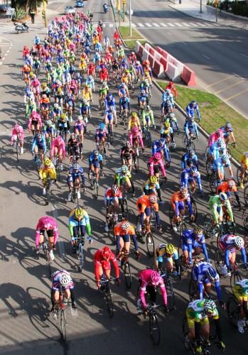 colorful bikers