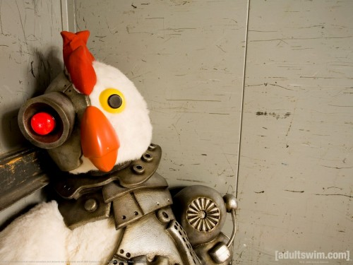 robot chicken in the corner 500x375 Robot Chicken In The Corner Wallpaper Television Humor