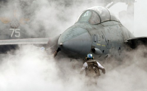 Smokey Flight Deck