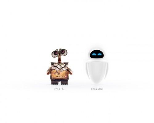 Wall-E - Mac Vs PC