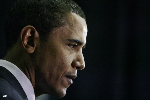Obama Looking Thoughtful