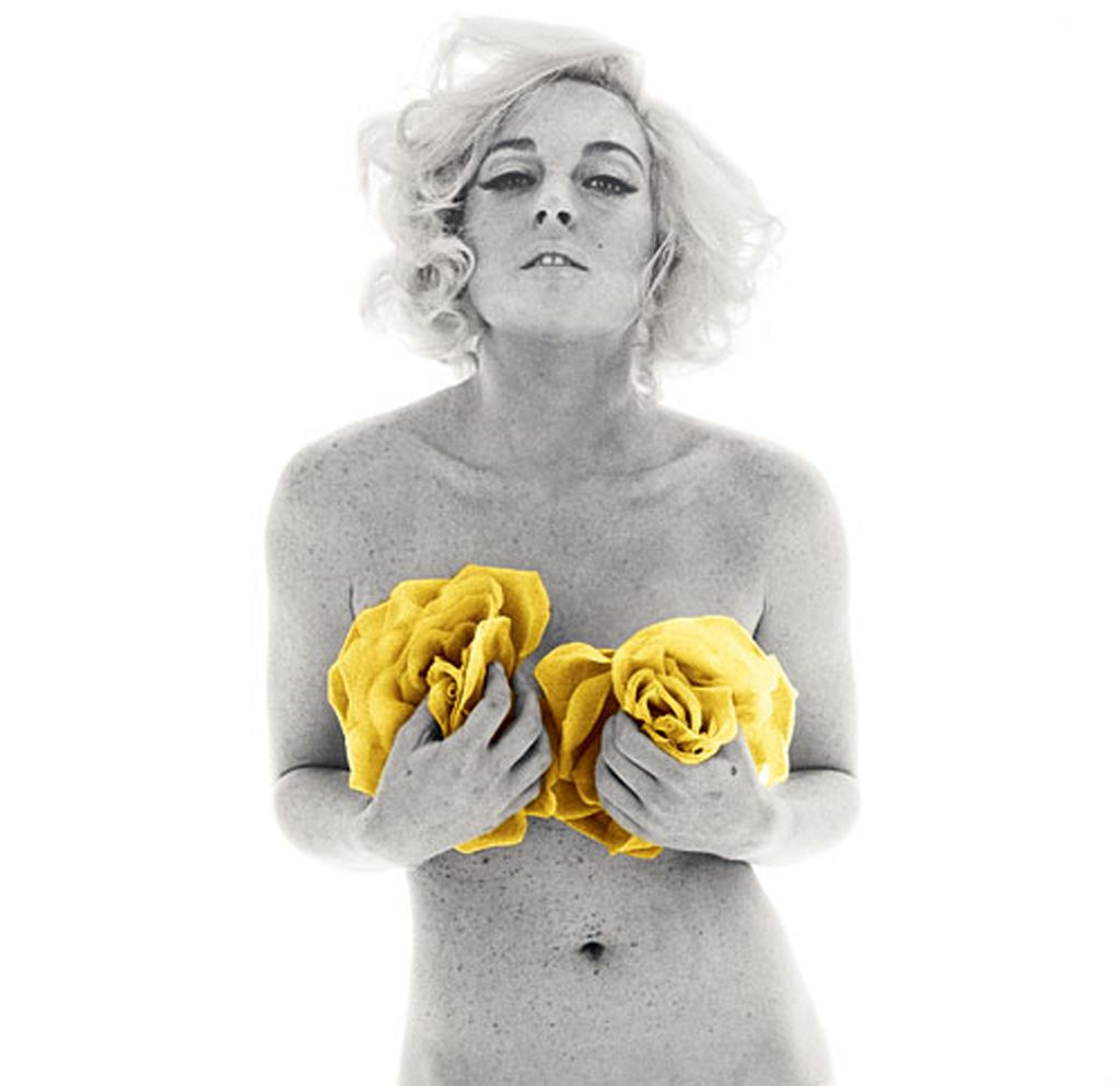 Lindsay lohan pays homage to marilyn monroe in playboy