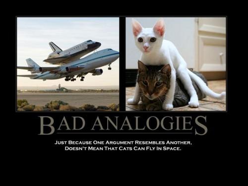 Bad Analogies