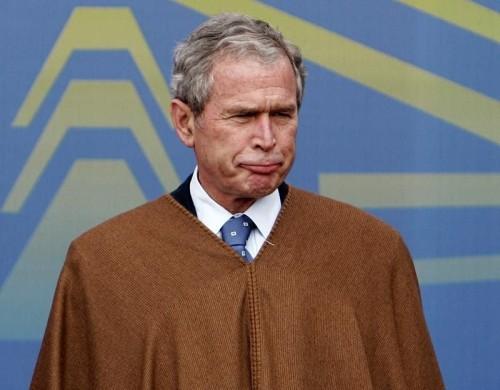 Sad George Bush