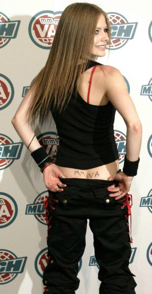 Avril Lavigne Ass