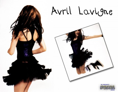 Avril Lavigne In a tutu