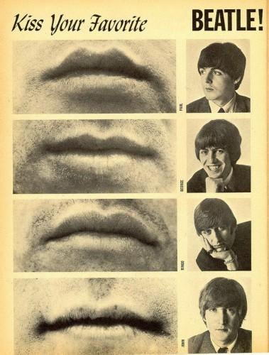 Kiss Your Favorite Beatle