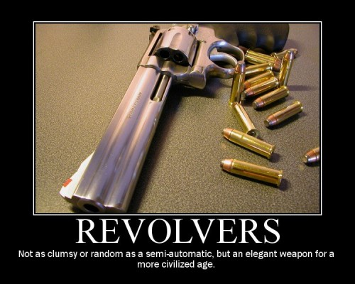 Revolvers - Elegant weapon for a more civilized age