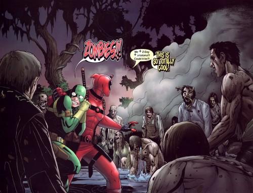 Deadpool vs Zombies